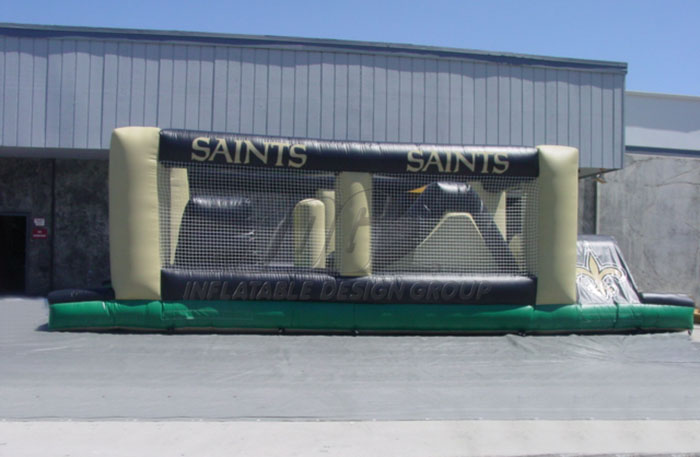New Orleans Saints Obstacle Course
