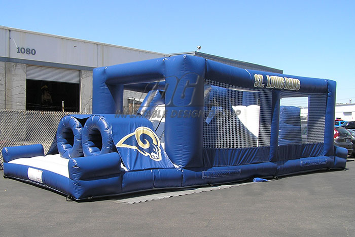 St. Louis Rams Obstacle Course