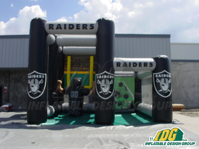LA RAIDERS DUAL KICK TOSS