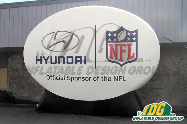 Hyundai NFL Logo Disk