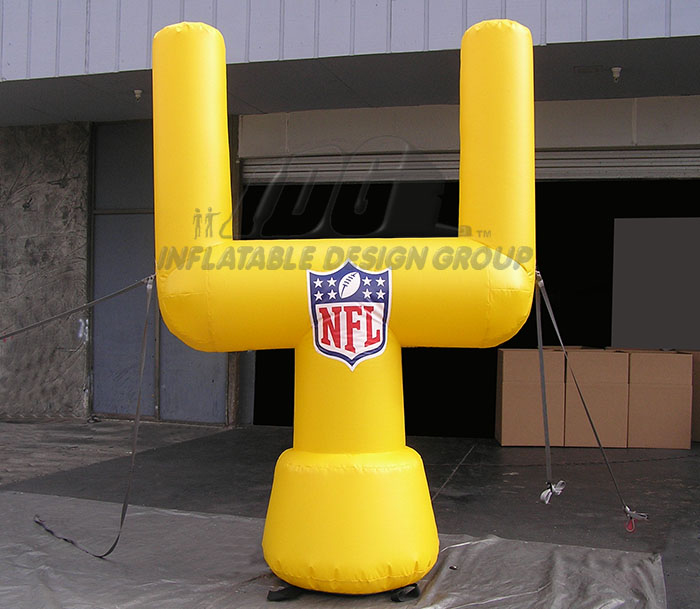Inflatable Goal Post logo