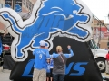Detroit Lions Inflatable Logo