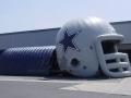 Dallas Cowboys Helmet and Tunnel