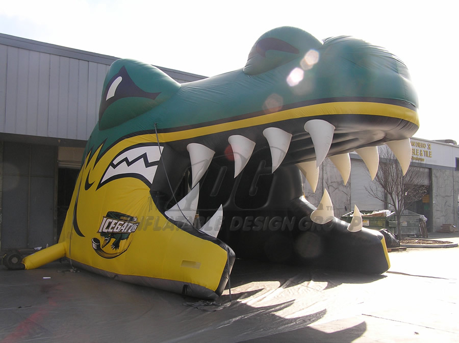 Inflatable Alligator Entryway