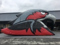 Inflatable Blackhawk Head