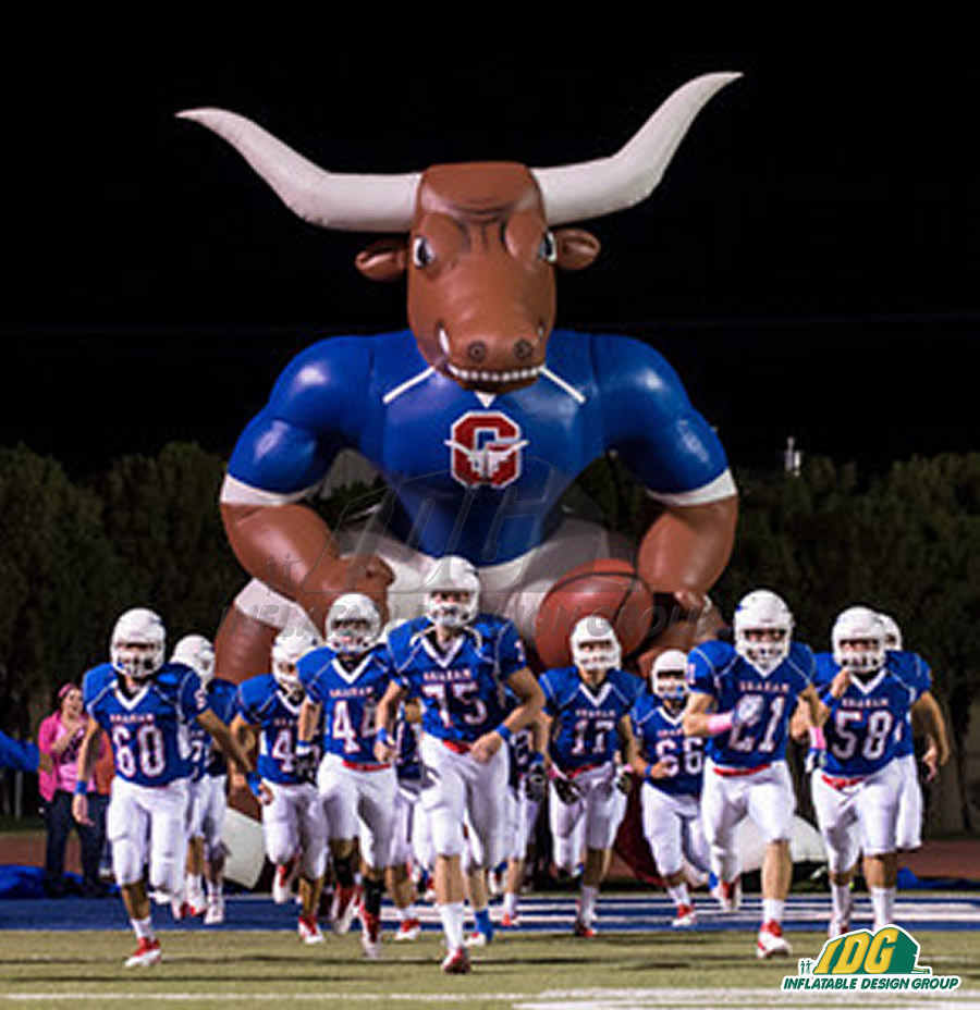 Longhorn high school inflatable