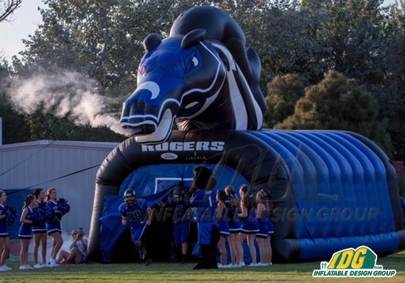 Inflatable Midland High School