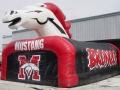 Broncos Custom Mascot Tunnel