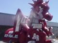 Inflatable Dragons Mascot Tunnel