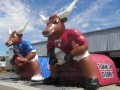 Inflatable LongHorns Custom Mascot Tunnel