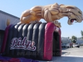 Inflatable Mountain Ridge Panthers Mascot Tunnel