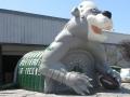 Ponderosa Custom Bear Mascot Tunnel