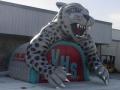 Valencia Jaguar Custom Mascot Tunnel