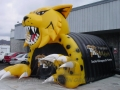 Inflatable Wildcats Custom Mascot Tunnel