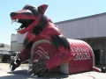 Inflatable Wolverines Custom Mascot Tunnel