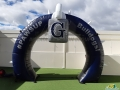 georgetown hs custom inflatable arch