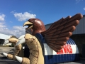 Hardin Jefferson Custom Inflatable Hawks Entryway