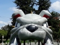 Carrol Custom Inflatable Bulldogs Entryway