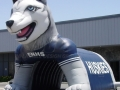 Edmond North Custom Inflatable Husky Entryway