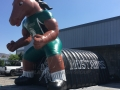 Stephen Austin Custom Inflatable Broncos Entryway
