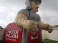 Lincoln Custom Inflatable Trojans Entryways