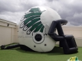 Athens HS Custom Inflatable Football Helmet