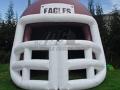 Eagles Inflatable High School Helmet
