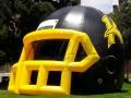 Inflatable Dual Colored High School Helmet