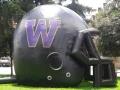Inflatable High School Logo Helmet