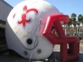Inflatable Multicolor Helmet