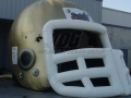 Inflatable Saints Helmet