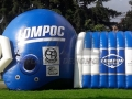Lompoc HS Inflatable Tunnel and Helmet