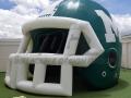 Mulvane HS Custom Inflatable Football Helmet