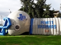 Pewitt High School Inflatable Helmet and Tunnel