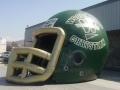 Woodland Christian Custom Inflatable Football Helmet