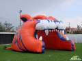 Bridgeport Sound Tigers Custom Inflatable Entryway