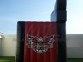 Carolina Thunderbirds Custom Inflatable Entryway