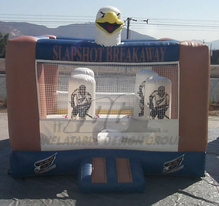 Capitals Hockey Bounce House