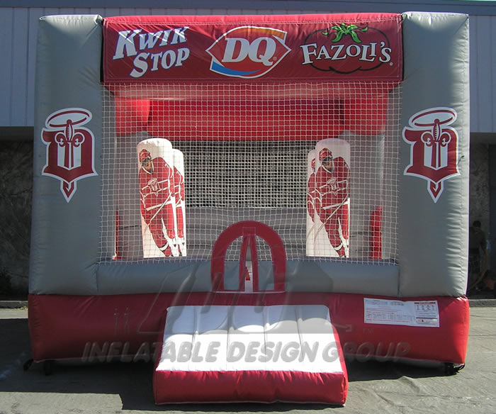 Sponsors Hockey Bounce House