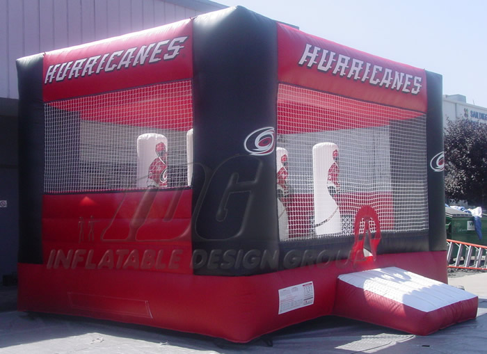 Hurricanes Hockey Bounce House