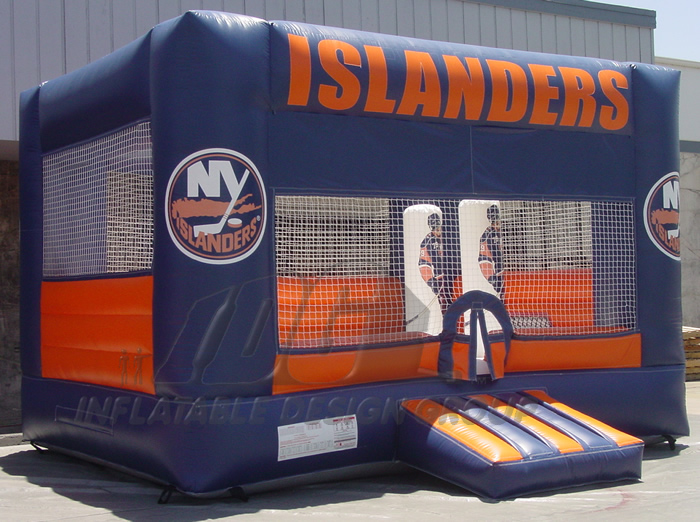 NY Islanders Hockey Bounce House