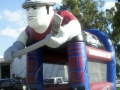 Alabama Slammers inflatable Slapshot