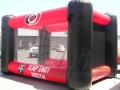 Hurricanes flat top side inflatable