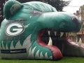 Inflatable Grizzly Bear