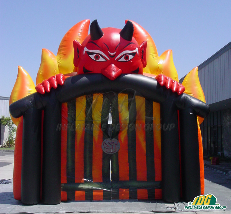 Inflatable Devil Entryway