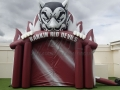 Rankin Red Devils Inflatable Entryway