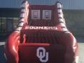 oklahoma custom inflatable free throw shoe