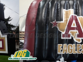 Eagles logo tunnel