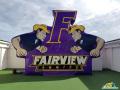 Fairview Aggies Custom Inflatable Logo