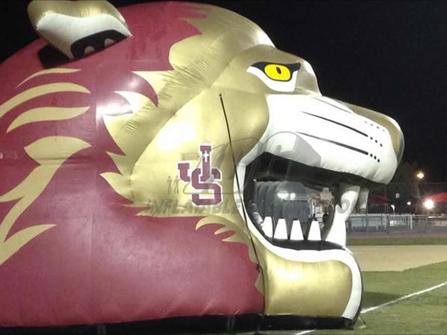 Inflatable Lion Head